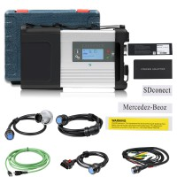 DOIP MB SD C5 (XC4 Plus) for Benz Diagnosis with WIFI for Cars and Trucks Without Software