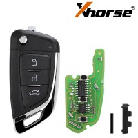 5pcs/lot XHORSE XKKF03EN Universal Remote Key Fob Knife Style for VVDI Key Tool