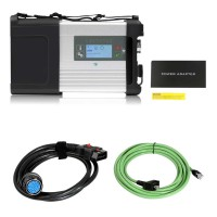 DOIP MB SD C5 BENZ C5 Star Diagnosis  Main unit + Lan cable + Main Cable with Wifi for Cars and Trucks without Software
