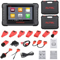 AUTEL MaxiDAS DS808 KIT Tablet Diagnostic Tool DS808 Full Set Support Injector & Key Coding UK/EU Ship No Tax
