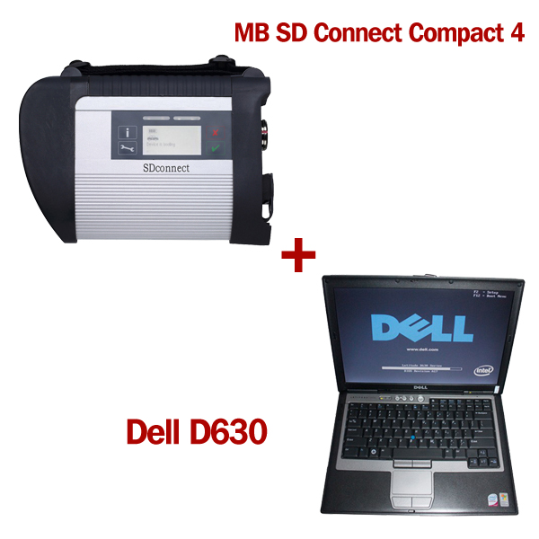 (Direct Use) V2019 07 HDD MB SD C4 SD Connect C4 with WIFI and 2012 11 HDD  Support Offline Programming Plus DELL D630 4GB Laptop