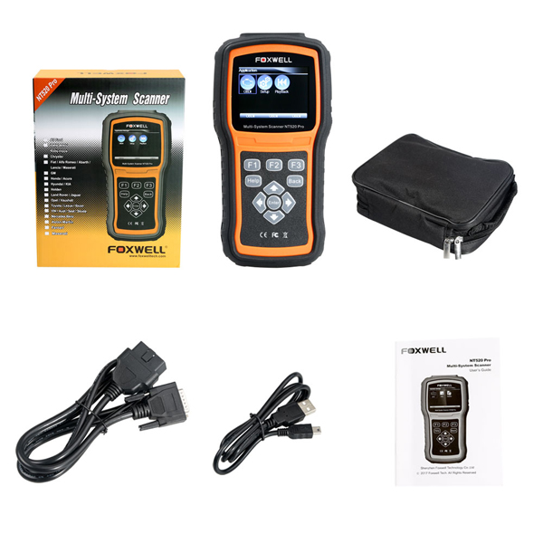 foxwell nt520 pro package list