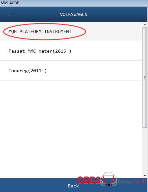 ACDP Module 6 Add PCF-key Adapters 3