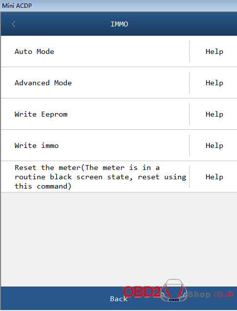ACDP Module 6 Add PCF-key Adapters 6