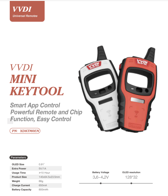 Xhorse VVDI Mini Key Tool - 01