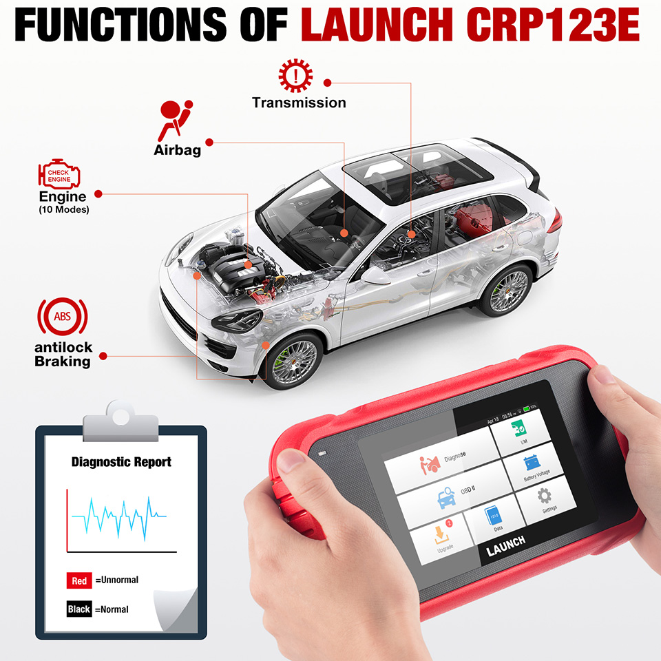 Launch CRP123E OBD2 Code Reader - 03