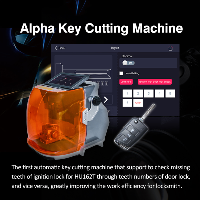 Alpha Key Cutting Machine - 02