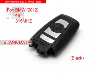 Smart Key 4 button 315MHZ 2012 For BMW