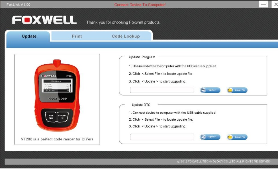 Foxwell NT200 Features and Functions - 04
