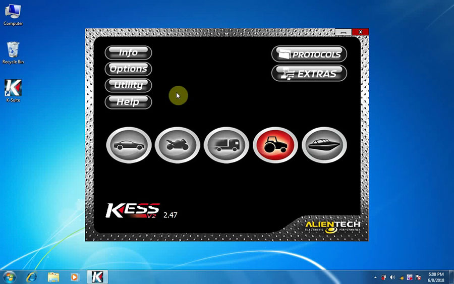 KESS V2 V2.47 software display 1