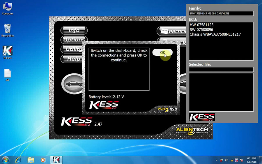 KESS V2 V2.47 software display 2