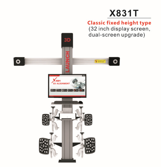 LAUNCH X831T 3D 4-Post Car Alignment Lift Platform